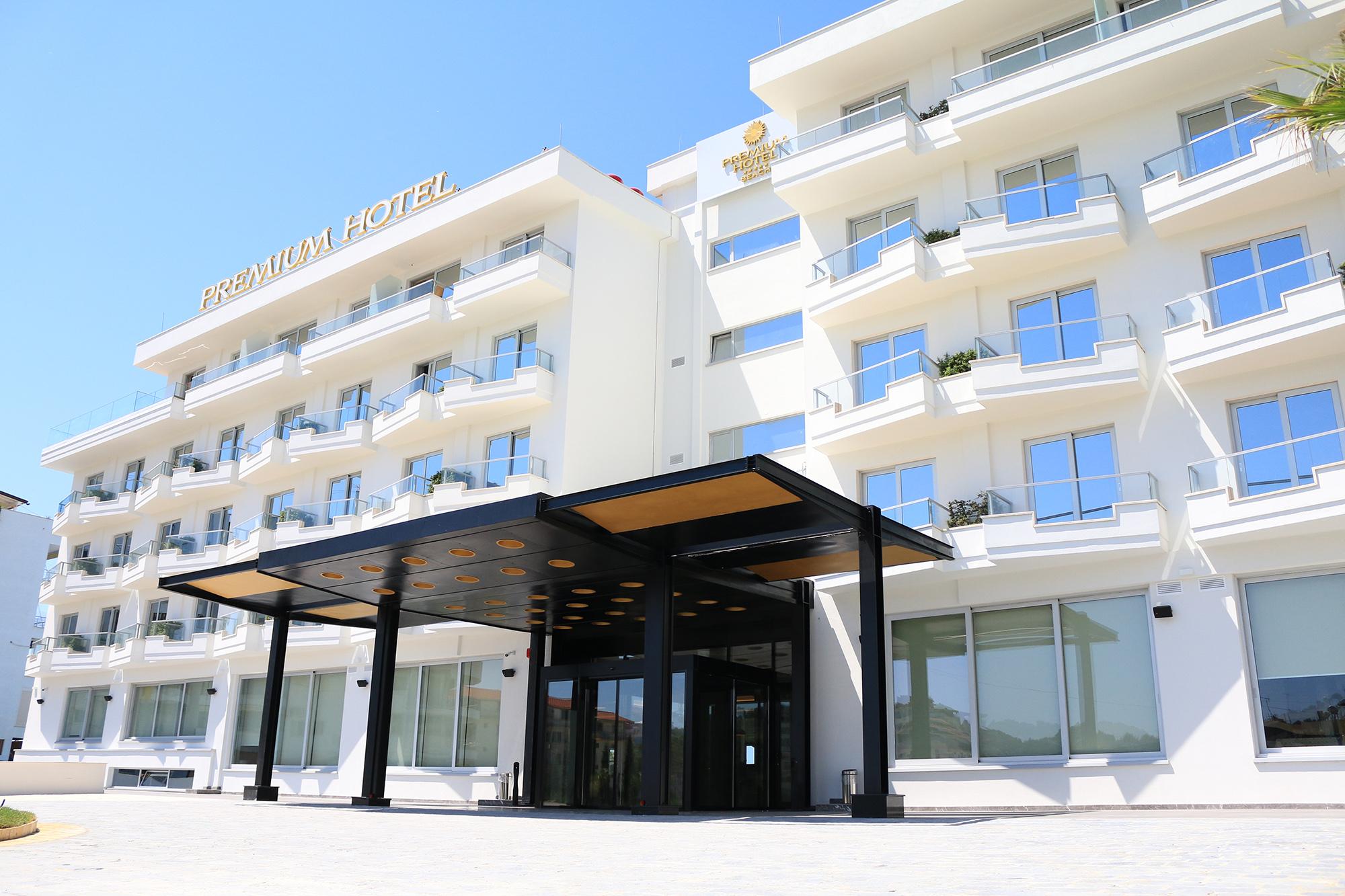 premium beach hotel in durres al loris rossi architect
